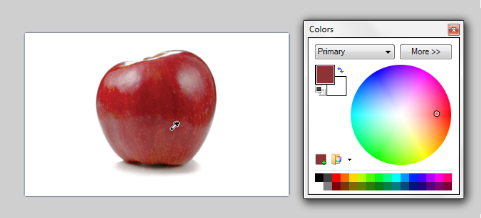 Example - Picking a color