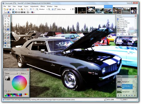 Paint.NET Free Image and Photo Editing