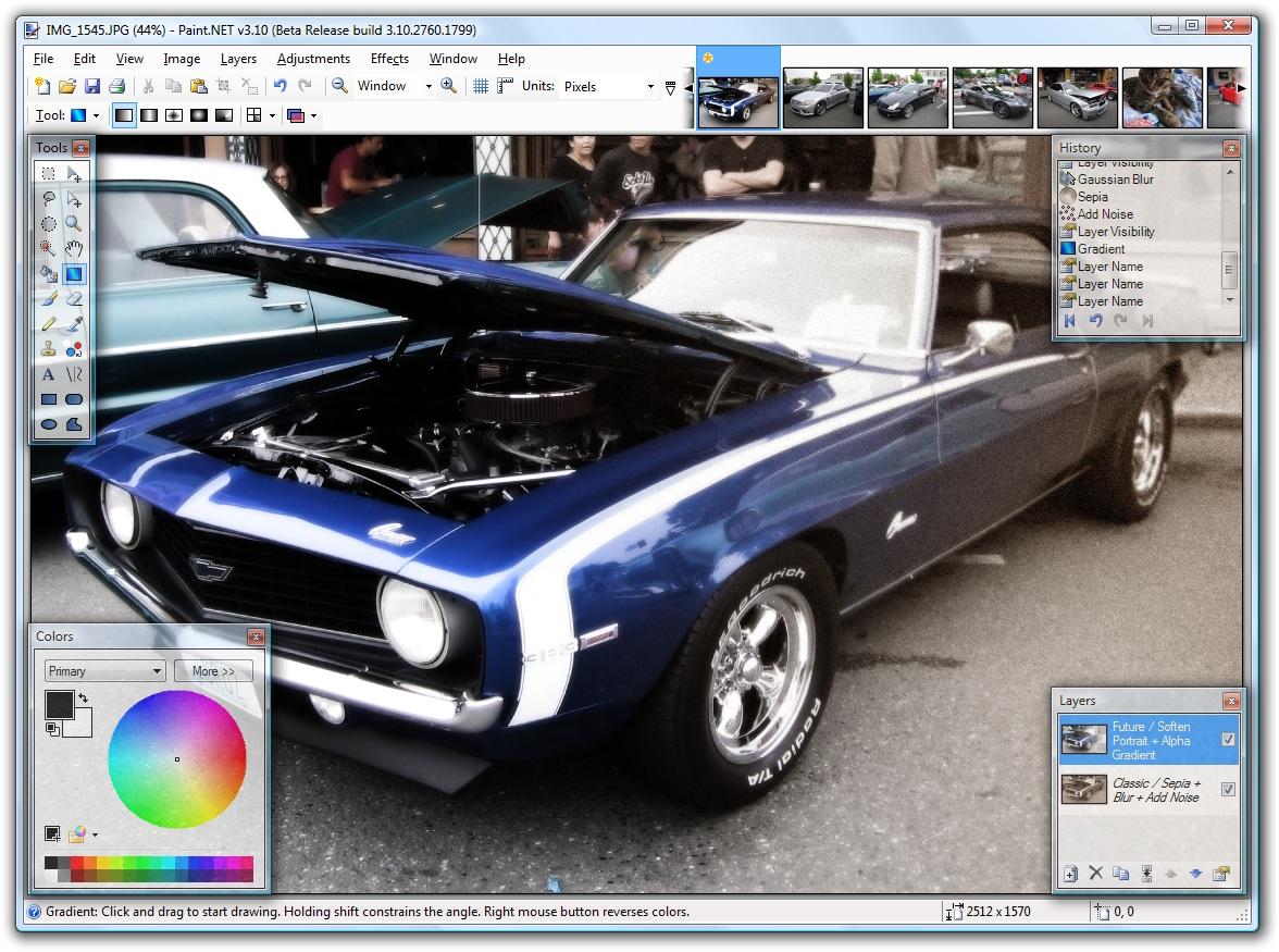 Net: ό,τι πιο κοντινό στο interface του photoshop
