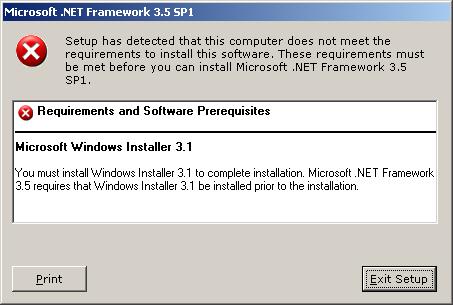 Windows installer 3.1 xp